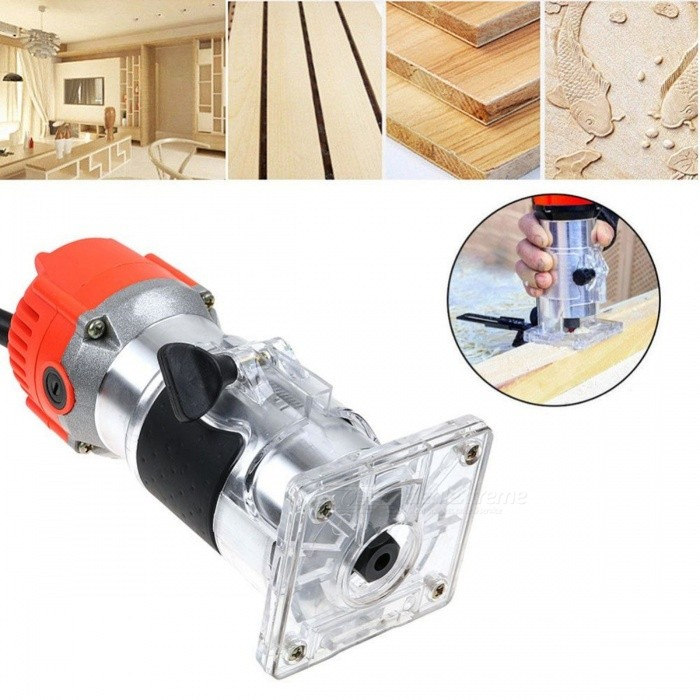 Sanheshun Wood Working Tool Set For Carpentry 680W 1/4'' Electric Hand Trimmer Wood Laminator Router Joiners Tool 220V