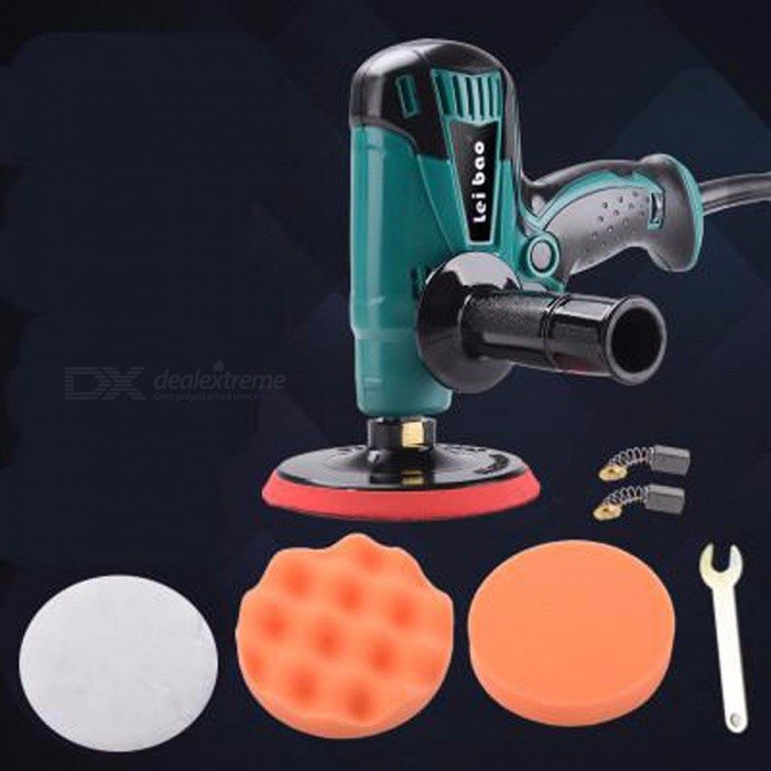 Electric Polishing Machine Car Polisher Cleaner Tool 220V 800W 6 Speed Changeable No-Load Speed 4600rpm