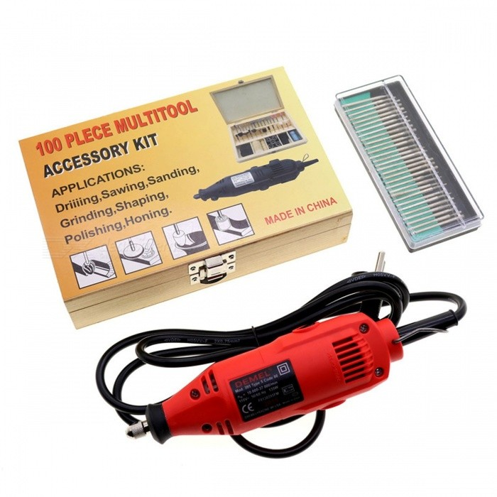 220V Power Polisher Electric Grinding Electric Grinder Mini Carving Pen Tool Set Miniature Drill DIY Hand Tools Wood Route