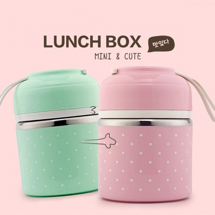 WOTHBUY Portable Cute Mini Japanese Bento Box, Leak-Proof Stainless Steel Thermal Lunch Box, Kids Picnic Food Storage Container Small Pink 1 LayerContainer <br>Description<br><br><br><br><br>Dinnerware Type: Dinnerware Sets<br><br><br>Certification: CIQ,CE / EU<br><br><br><br><br>Pattern Type: Solid<br><br><br>Brand Name: WORTHBUY<br><br><br><br><br>Feature: Stocked,Eco-Friendly<br><br><br>Number of Users: 1<br><br><br><br><br>Style: Japan Style<br><br><br>Metal Type: Stainless Steel<br><br><br><br><br>Material: Metal<br><br><br>Production: Other<br><br><br><br><br><br><br><br><br><br><br><br>Feature:<br><br><br>1.Cute &amp;amp; Mini&amp;nbsp;modelling.Give your&amp;nbsp;kids&amp;nbsp;a special warm&amp;nbsp;gifts.<br><br><br>2.The colour of bright.Small and exquisite.Specially designed for children and kids.<br><br><br>3.Portable Style.Easy to carry for&amp;nbsp;school,picnic,camping and so on.<br><br><br>4.Adopt stainless steel material.Healthy and safety.<br><br><br>5.Completely sealed effect.Each layer is sealed<br><br><br>6.Heat preservation.Ensure the temperature of the food.<br><br><br>&amp;nbsp;<br><br><br>Attention:<br><br><br>Dishwasher:NO,manual cleaning is recommended.<br><br><br>Microwave Heating:No.Cant be used in microwave.<br><br><br>&amp;nbsp;<br><br><br>Details:<br><br><br>Brand Name:WORTHBUY<br><br><br>Place Of Origin:GuangDong,China<br><br><br>Style:Japanese<br><br><br>Material:Stainless Steel,PP<br><br><br>Shape:Rotundity<br><br><br>Color:Blue,Green,Pink<br><br><br>Size:1 Layer:16 x 11cm<br><br><br>&amp;nbsp; &amp;nbsp; &amp;nbsp;&amp;nbsp; &amp;nbsp;&amp;nbsp;2 Layer:22 x 11cm<br><br><br>&amp;nbsp; &amp;nbsp;&amp;nbsp;&amp;nbsp; &amp;nbsp; &amp;nbsp;3 Layer:28.5 x 11cm<br><br><br>Capacity:1 Layer:800ml<br><br><br>&amp;nbsp; &amp;nbsp; &amp;nbsp; &amp;nbsp; &amp;nbsp; &amp;nbsp;&amp;nbsp; &amp;nbsp; &amp;nbsp; 2 Layer:1100ml<br><br><br>&amp;nbsp; &amp;nbsp; &amp;nbsp; &amp;nbsp; &amp;nbsp; &amp;nbsp; &amp;nbsp; &amp;nbsp; &amp;nbsp;3 Layer:1400m
