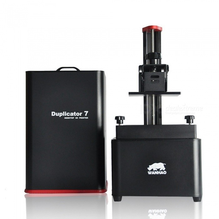 WANHAO D7 V1.5 Porfessional New Version UV Resin DLP SLA 3D Printer with 250ML Resin for Home, Office Use