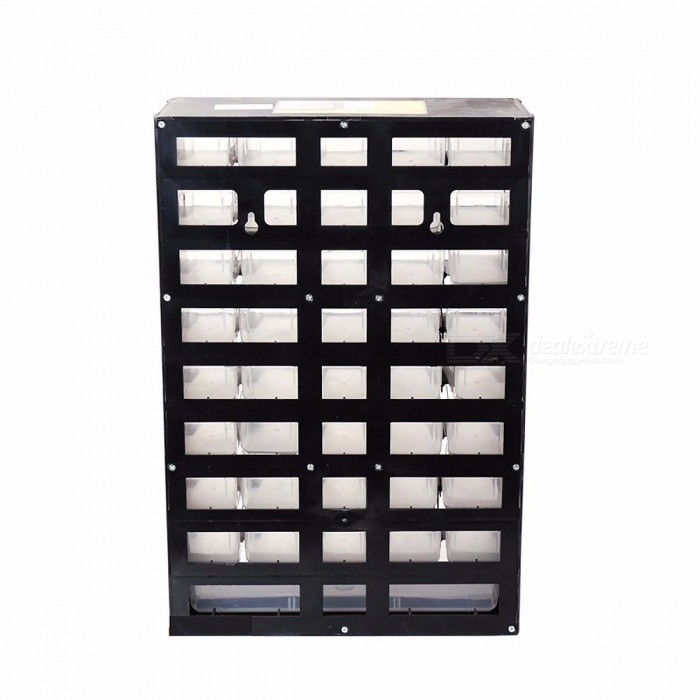 HORUSDY 12.2*5.4*19.3 Inches Portable Durable Plastic Part Storage Hardware and Craft Cabinet Tool Box Drawer
