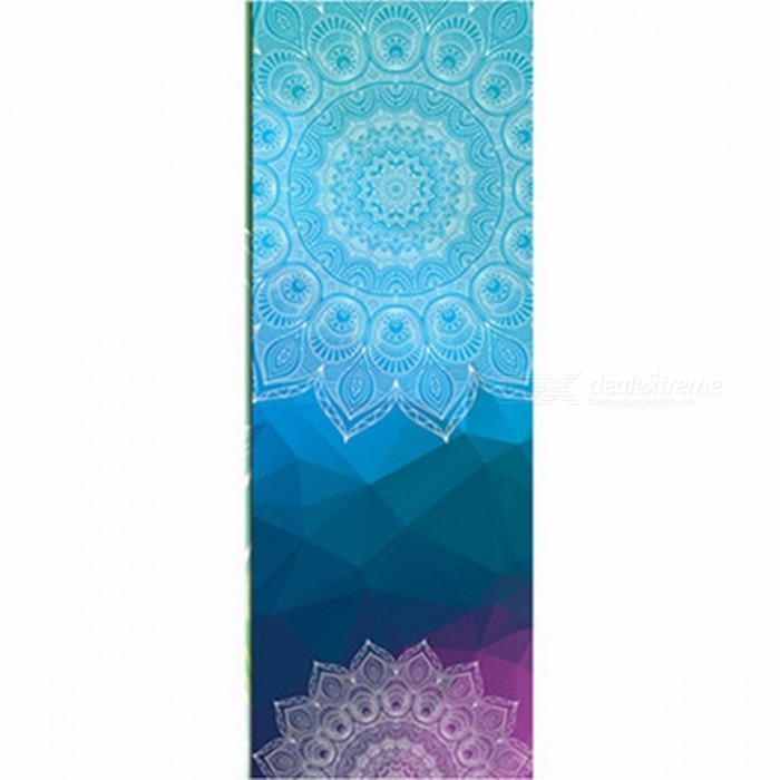 Portable Retro Style Soft Yoga Mat Towel, Sport Fitness Gym Exercise Pilates Workout Training Pad Cover Blanket