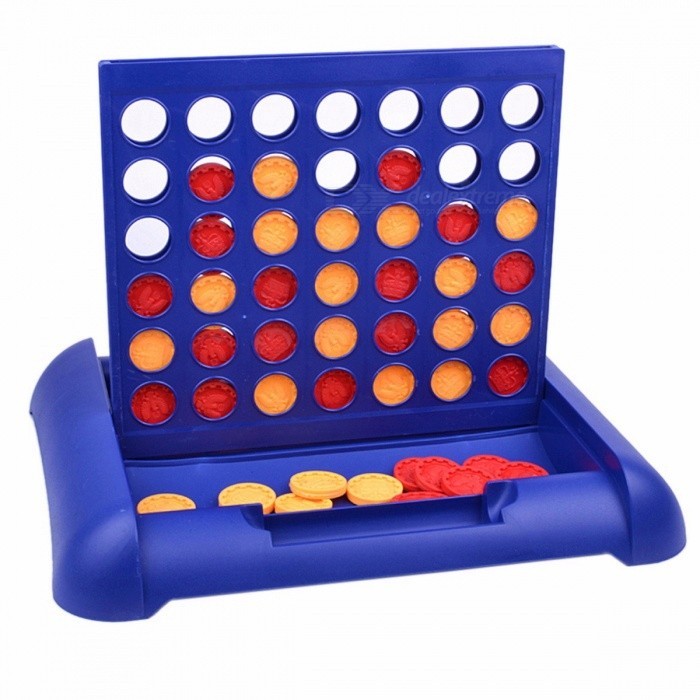 Portable Classic New Sports Entertainment Connect 4 Game, Educational Board Game Toy for Kids Children