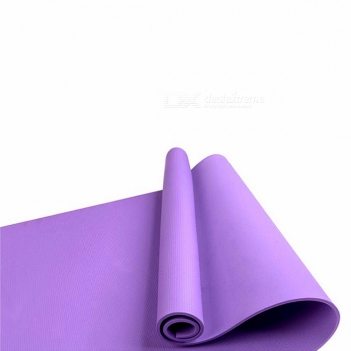 Foldable Rollable Fitness Yoga Pilates Mat for Men Women, Non-slip 4mm Thickened EVA Utility Exercise Workout Pad