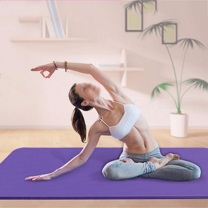 Soft EVA Foam Non-skid Gym Fitness Exercise Pad, Thickened Non-slip Rollable Folding Pilates Floor Yoga Mat PinkDescription<br><br><br><br><br>Brand Name: Balight<br><br><br>Material: PVC<br><br><br><br><br>Thickness: 4 mm (Senior Type)<br><br><br>Length: 173cm*61cm<br><br><br><br><br><br><br><br><br><br><br><br>Main Features:<br><br><br>&amp;nbsp;<br><br><br>Thick enough to protect your spine, hips, knees and elbows, while still allowing you to grip the hard floor for balance. <br>Premium non-skid EVA material ensures that the mat never slips during use and prevent injuries. <br>Extra large size (173*60*0.4 cm) ensures complete comfort for people of all shapes and sizes. <br>Exceptional resilience allows you to keep your balance during any exercise style. <br>Easy to be washed with soap and water. <br>Easy strapping and light weight make it easy to be carried and stored.<br><br><br>&amp;nbsp;<br><br><br><br>Package weight:&amp;nbsp;0.161 kg <br><br><br><br>Package size:&amp;nbsp;62.00 x 12.00 x 12.00 cm / 24.41 x 4.72 x 4.72 inches <br><br><br>&amp;nbsp; <br><br><br>Package Content:&amp;nbsp;1 x Yoga Mat Exercise Pad 6MM Thick Non-slip Gym Fitness Pilates Supplies <br><br><br><br>&amp;nbsp;<br><br><br>Note:<br><br><br>1.Asian<br> Chinese Size is Smaller than US or European Size,Please allow 1-2CM <br>differs due to manual measurement. Please check above size details <br>carefully.<br><br><br>2. Items are measured by hand, there will be a slight deviation. Hope you understand.<br><br><br>3. The item color displayed may be slightly different on your computer monitor since monitors are not calibrated same.<br>