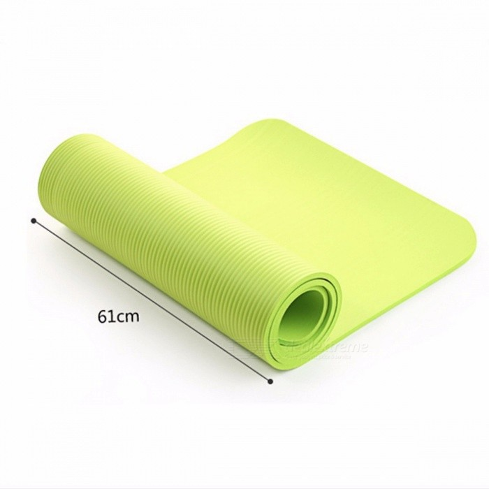 High Quality Multifunctional Yoga Mat with Sling Strap, Elastic Non-slip Fitness Gym Foam Mat Blanket for Sports Exercise
