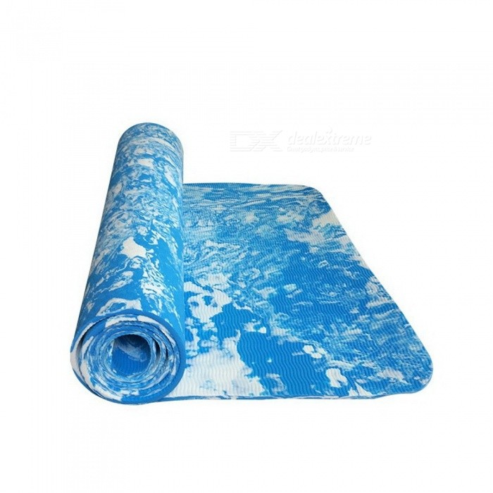 New Design TPE 185*62*0.6cm Non-Slip Yoga Exercise Fitness Mat, Lose Weight Eco-friendly TPE Yoga Mat for Body Building