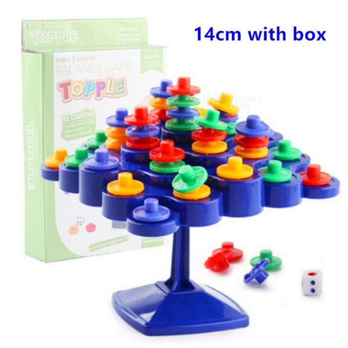 Topple-Balance-Board-Game-Dont-Let-Topple-Topple-As-You-Try-To-Socore-Points-Parent-child-Interactive-Family-Game-for-Kids-26cm-No-Box