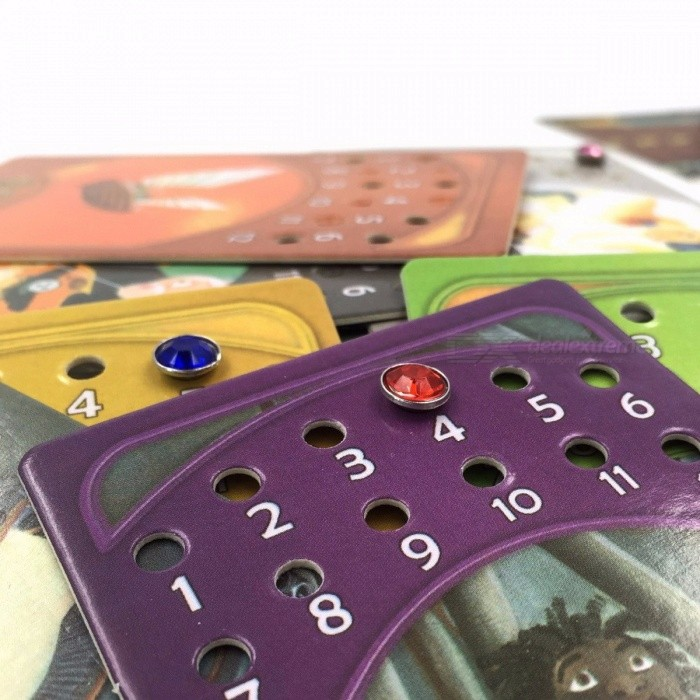 Portable Dixit 1+2+3+4+5+6+7+8 Cards Game Toy for Home Party, English & Russian Rules Educational Board Game