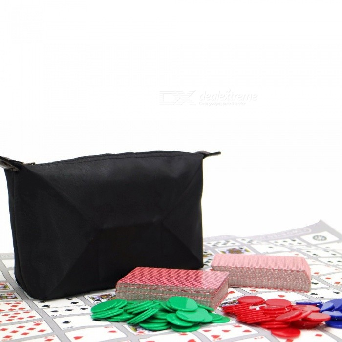 Portable Famous Popular Tactics Board Sequence Game with Zipper Bag, Suitable for 2-12 Players or Family