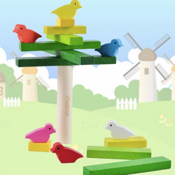 Balance-Stacking-Game-Bird-Building-Blocks-Wooden-Toy-Childrens-Birthday-Present-Intelligence-Creative-Plaything-Colorful