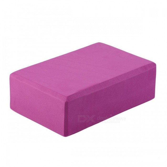 Aolikes 23*15*8cm Good EVA Foam Lightweight Yoga Block Brick Tool for Home Sports Exercise Fitness Training
