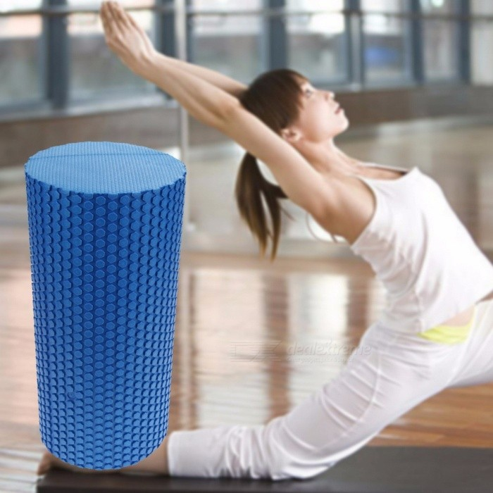 Gym Exercise Fitness Floating Point EVA Foam Yoga Roller Blocks, Physio Trigger Massager for Body Building