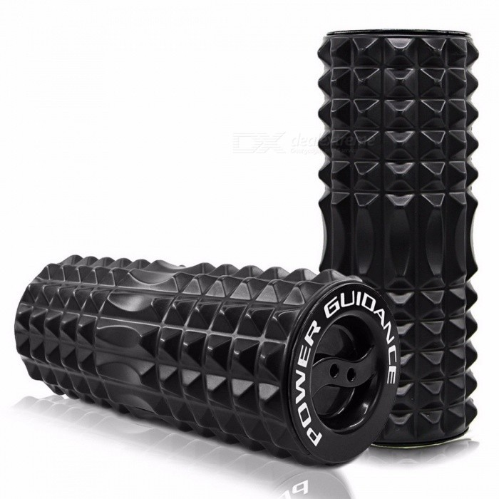 Fitness Trigger Point Foam Roller for Exercise Back Muscles, Pilates Yoga Training Physical Massage Therapy Block
