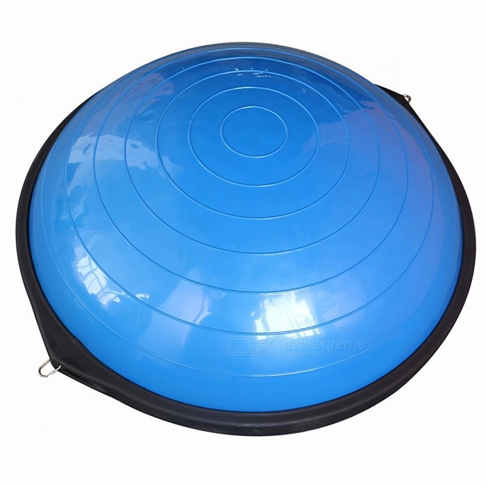 Universal 58cm Yoga Fitness Half Bosu Ball Balance Trainer Plate Board Knee Pads, Home Gym Equipment Gymbal