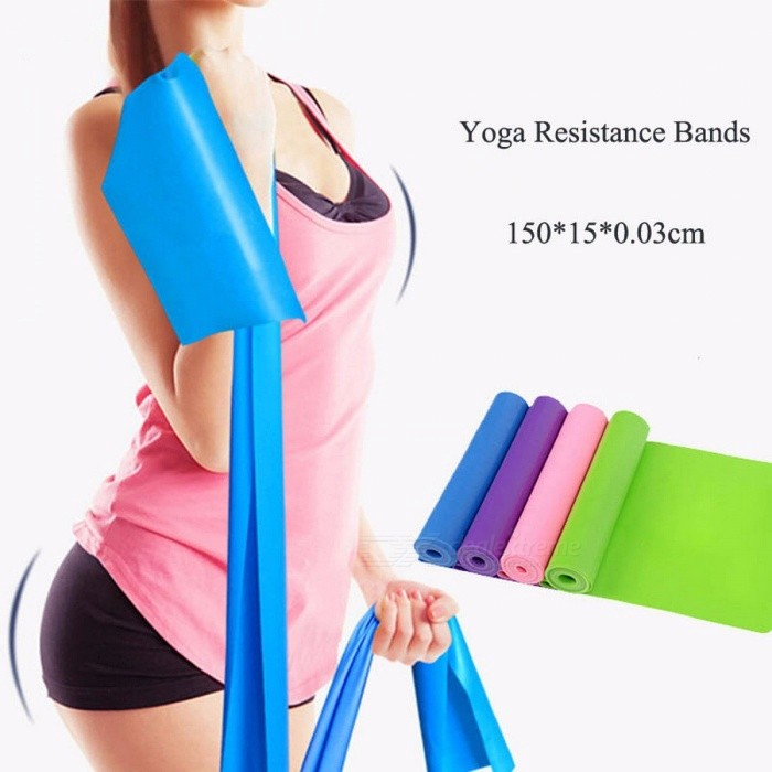 Buy QUBABOBO Unisex Natural Latex Yoga Resistance Bands Pilates Tension Belts, Elastic Exercise Sport Body Stretching Pull Straps  Random with Litecoins with Free Shipping on Gipsybee.com