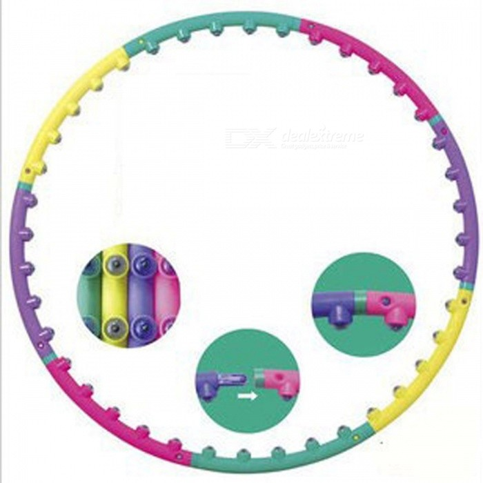 New-Premium-Magnetic-Fitness-Massage-Therapy-Hula-Hoop-Hula-Hoop-for-Women-Gilrs-Children-Kids-Bodybuilding-picture-show