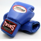 Premium Portable 1 Pair PU Leather Muay Thai Twins Kicking Boxing Gloves for Adults Men Women Training in MMA 12oz/White