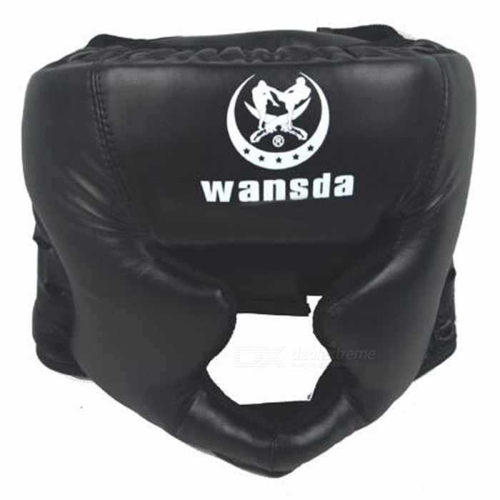 Premium Padded Closed Type Boxing Head Guard, Sparring Helmet, MMA / Muay Thai Kickboxing Brace for Head Protection