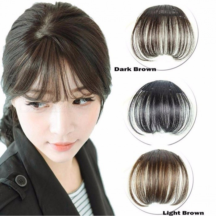 Clip-On Type Front Neat Bang Hair Extension, Fringe Hairpieces False Synthetic Hair Clip for Girls, Women Light BrownCurly Short<br>Description<br><br><br><br><br>Item Type: Clips<br><br><br>Brand Name: Frequeback<br><br><br><br><br><br><br><br><br><br><br>Features:<br>100% Brand New and High Quality<br>Material: Synthetic<br>Color: As the pictures show<br>Notice:<br>Due to the different monitor and light effect, the actual color maybe a slight&amp;nbsp; different from the picture color.<br>