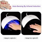 SexyMix-Nature1-Smart-Sensor-16W-UV-LED-Lamp-Nail-Dryer-with-USB-Connector-45120s-Time-Setting-for-Curing-Nail-Gel-White