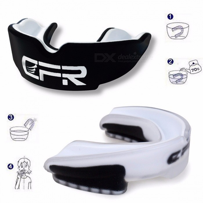 CFR Adults Mouthguard Mouth Guard Oral Teeth Protector for Boxing Sports MMA Football Basketball Karate Muay Safety Protection