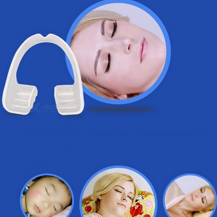 Anti Snoring Night Sleep Mouth Guard, Anti Snore Mouthpiece Stop Teeth Grinding Bruxism Body Sleep Aid for Boxing Basketball