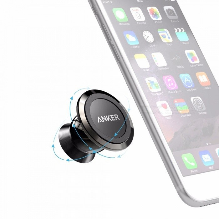 Anker Universal Magnetic Car Mount Ultra-Compact Phone Holder for IPHONE 7 / 7 Plus / 6s / Samsung Galaxy S8 / S7 / S6 and More