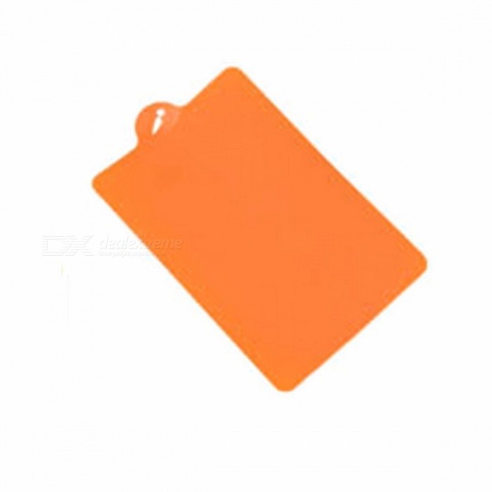 39 x 25cm Flexible PP Plastic Non-slip Cutting Board with Hang Hole, Food Slice Cut Chopping Block Kitchen Tool