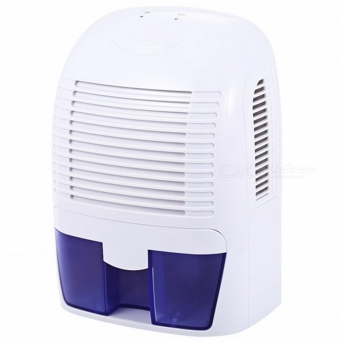 1500ml Electric Air Dehumidifier Automatic Standby Quiet Moisture Absorbing Smart Air Dryer Cabinet XROW-800A EU PlugDescription<br><br><br><br><br>Dehumidification Volume: &amp;lt;1.1L/h <br><br><br>Water Tank Capacity (l): 1.1-2.5L <br><br><br><br><br>Certification: RoHS,CE,UL <br><br><br>Dehumidifying Technology: Compressor <br><br><br><br><br>Function: Removable Water Tank <br><br><br>Type: Refrigerative Dehumidifier <br><br><br><br><br>Application: 11-20? <br><br><br>Power (W): 60w <br><br><br><br><br>Brand Name: Excelvan <br><br><br>Voltage (V): Other <br><br><br><br><br><br><br><br><br><br><br>This multi-functional semiconductor dehumidifier is<br> a fabulous household appliance for easily drying out damp air. It <br>protects your home from mold and mildew caused by excess moisture and <br>helps you keep away from bacteria in the air. <br><br><br><br> <br><br><br>Features:<br>- Innovative compact design: portable<br> and lightweight design, it is easy to be moved from room to room, and <br>its size is perfect for the bathroom, kitchen, closet, bedroom, office, <br>etc.<br>- Easy to use: connect<br> the power adapter to the dehumidifier and to an electrical wall socket,<br> then switch the ON / OFF button, and you will feel air blowing out of <br>the dry air outlet.<br>- Improve your home environment: activated<br> carbon integrated into its lids of air outlets which can absorb <br>poisonous gas and odor, keeping your room full of purified air.<br>- Super quiet: with its super silence design, you can enjoy sleeping and working without disturbing. <br>- Filled tank shut off automatically: you dont need to worry about spilling or overflowing, because it will shut off automatically when water tank is filled.<br>- Fashionable and exquisite design: adopted<br> advanced ABS material, it resists abrasion and corrosion. Cute and <br>fashionable appearance, it is also a perfect decoration.<br>- Large water tank capacity: 1.5L volume is enough for you to dry your whole 