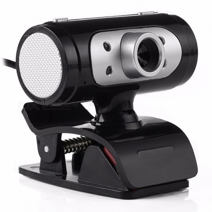 High Definition HD Webcam 1280 x 720 720p Pixel 4-LED Web Cam Camera with Night Light For Computer High Quality usb