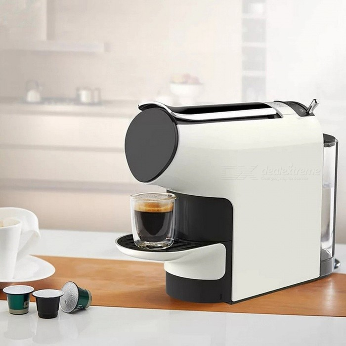 Newest Xiaomi SCISHARE Capsule Espresso Coffee Machine with 9 Level Concentration Preset, Compatible with Multi-brand Capsules