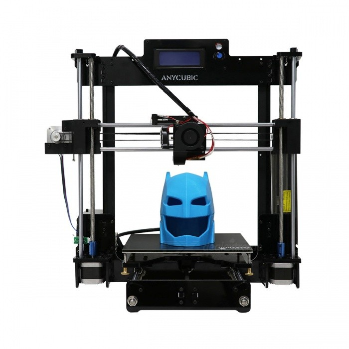 Anycubic Newest Upgrade Reprap 3D Printer DIY Kit, High Precision Ultrabase Platfrom with 1kg Filament for Gifts EU plug