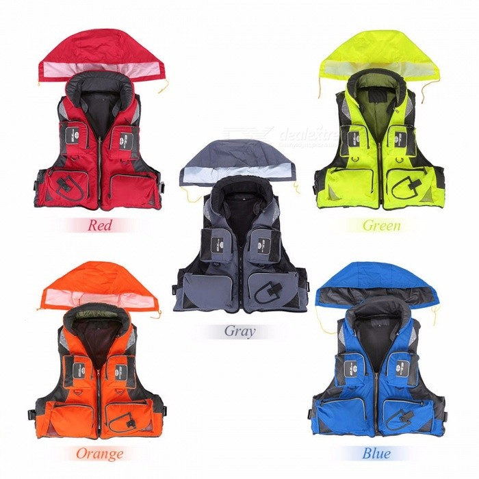 Lixada Professional Fly Fishing Vest Polyester Jacket Outdoor Sports Fishing Vest Backpack for carp Pesca Fish Accessory 5 Color
