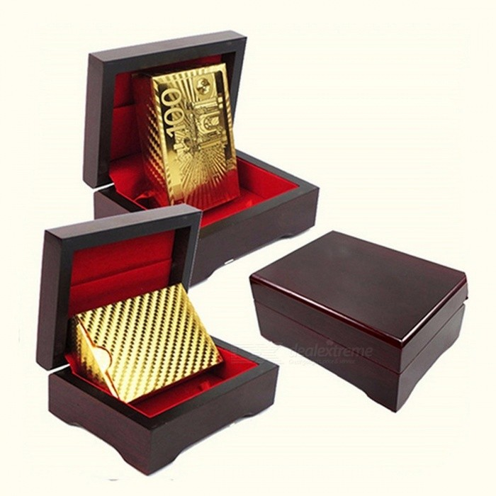 Luxury Durable Non Fade Gold Foil Poker Playing Cards Dollar EUR Plaid Pattern Set for Party Play Game  Gold 3Description<br><br><br><br><br>Age: &14 Years<br><br><br>Type: Normal<br><br><br><br><br>Tabletop Game Product: Card Cover<br><br><br>Material: Paper<br><br><br><br><br>Minimum Player Number: 1<br><br><br>Maximum Player Number: Unlimited<br><br><br><br><br>Game Difficulty Level: Advanced<br><br><br>Type: UNO Card<br><br><br><br><br>Teaching Mode: Other<br><br><br><br><br><br><br>Specifications:<br>New gold foil poker playing cards, looks luxury.<br>Use high-grade gold foil and deep emboss the surface.<br>A clear three-dimensional patterns, all sorts of grain, reflection texture shining like gold.<br>Not only full of art value, but also can be a gift to your friend.<br>&amp;nbsp;<br>Type: Poker<br>Material: Gold Foil<br>Color: Golden<br>Use: for Party or Game<br>Features: Highly Flexible, Durable, Scratch Less, Non Fade, Waterproof<br>Size: 5.7cm x 8.8cm/2.24 x 3.47 (Approx.)<br><br>Notes:<br>Due to the light and screen setting difference, the items color may be slightly different from the pictures.<br>Please allow slight dimension difference due to different manual measurement.<br>&amp;nbsp;<br>Package Includes:<br>1 Set of Playing Cards (Others Not Included)<br>
