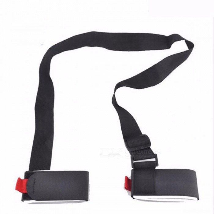 Skiing Snowboard Bag Carrier Hand Handle Straps Mountain Ski Belt Skiing Skiboard Snowboard Binding Protection Pole Tie Black for sale in Bitcoin, Litecoin, Ethereum, Bitcoin Cash with the best price and Free Shipping on Gipsybee.com