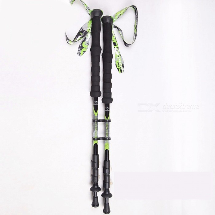YUETOR 100% Carbon Fiber Walking Stick for Trekking Pole Ski Sticks Nordic Walking Poles Bastones Trekking Carbono