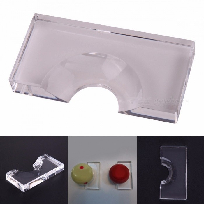 52mm Transparent Color Plastic Snooker Billiards Position Marker Billiard Supplies for Pool Ball Snooker &amp; Billiard Accessories TransparentDescription<br><br><br><br><br>Sport: Snooker<br><br><br>Brand Name: SANGEMAMA<br><br><br><br><br>Rod Box Material: Other<br><br><br>Rod Box Size: Other<br><br><br><br><br>Maintenance Tools Category: Other<br><br><br><br><br><br><br><br><br><br><br><br>Features: <br>Just place the marker behind the ball whilst in play and clean away any dust or dirt <br>With its help, the white cue ball can be placed back exactly where it was after being chalked <br>Suit for Pool Billiards (2 1/4 pool balls ) <br>Material: Acrylic<br>