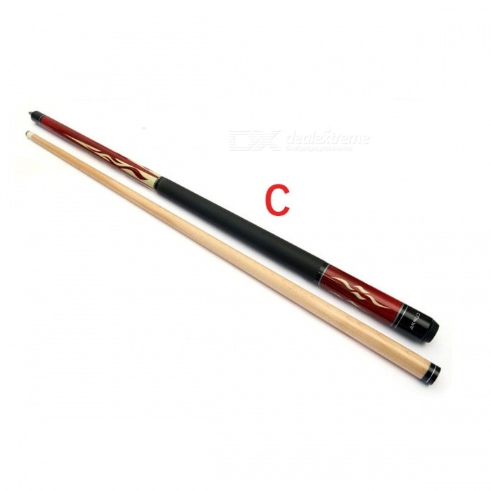 Stainless Steel Joint, Skidproof Leather Butt19oz Color Cuppa HS Pool Cues Stick 13mm / 11.5mm / 10.5mm /  Tip Billiard Cue