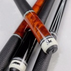 High-Quality-China-Billiard-Pool-Cues-115mm1275mm-Tip-BlackOrange-Colors-8-Pieces-Wood-Laminated-Technology-Shaft-2016-New-1275mm8K1