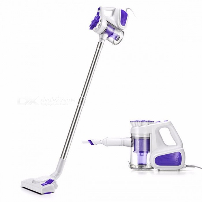 PUPPYOO WP526-C High Quality Low Noise Portable Household Vacuum Cleaner Handheld Dust Collector and Aspirator