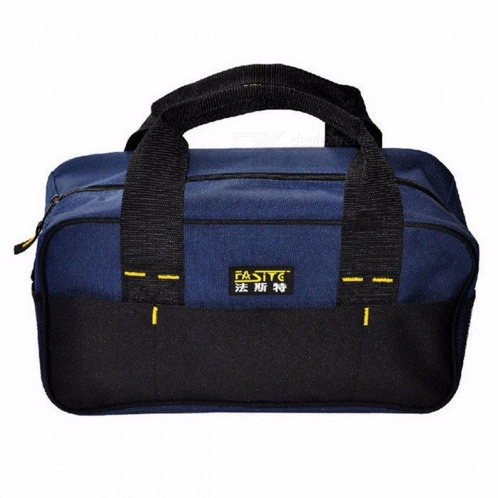 Stylish-Fashion-300g-Mens-Tool-Bag-Durable-And-Portable-Tool-Bags-Factory-Price-Length-34-Cm-600D-Oxford-black