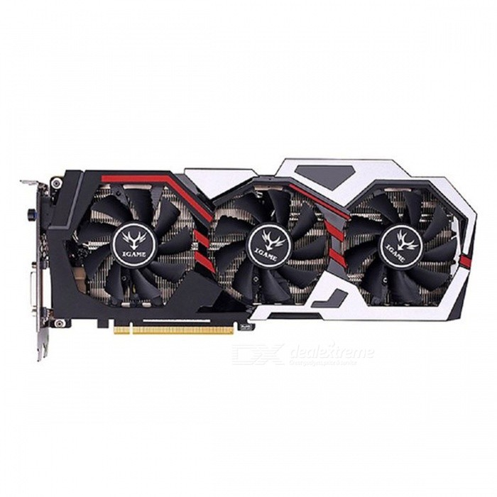 Buy Original Colorful iGame GeForce GTX 1070 Ti U - TOP Gaming Graphics Card 8GB 256bit GDDR5 8008MHz Video Graphics Card 3 Fans black with Litecoins with Free Shipping on Gipsybee.com