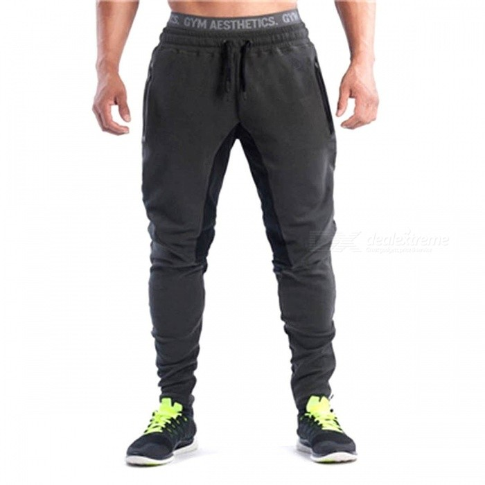 Detector-Mens-Sports-Trousers-Sportwear-Pants-Fitness-Brand-Pants-Clothing-Clothes-Pants-for-Gym-Running-XXLGREY
