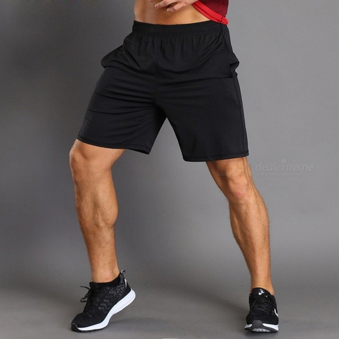 LANTECH Mens Running Jogging Training Sports Sportswear Shorts, Breathable Quick Dry Fitness Exercise Gym Pocket Pant M/grayDescription<br><br><br><br><br>Item Type: Shorts<br><br><br>Sport Type: Running<br><br><br><br><br>Pattern Type: Solid<br><br><br>Gender: Men<br><br><br><br><br>Material: Spandex,Polyester<br><br><br>Brand Name: LANTECH<br><br><br><br><br><br><br><br><br><br><br><br>Features:<br>Polyester material and high quality.<br>The fabric has good elasticity, and soft, make you feel more comfortable and breathable.<br><br><br>Pls allow 1-3 cm tolerance because the size is measured by manual<br>