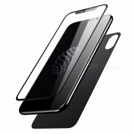 Baseus-3D-Full-Screen-Protector-for-IPHONE-X-Tempered-Glass-Front-Film-2b-Protective-Glass-Back-Protector-Cover-For-iPhone-XWhite