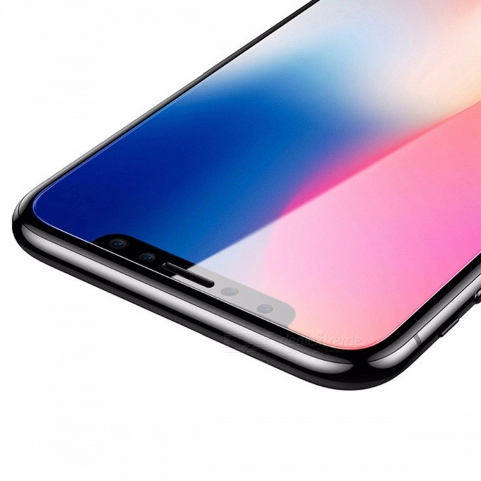 Baseus 3D Matte Glass Protective PET Edge Frosted Tempered Glass For IPHONE X Full Coverage Screen Protector Tempered Glass/BlackScreen Protectors<br>Description<br><br><br><br><br>Use: Mobile Phone<br><br><br>Features: Easy to Install,Scratch Proof,Matte,Ultra-thin<br><br><br><br><br>Package: Yes<br><br><br>Type: Front Film<br><br><br><br><br>Edge-to-edge Coverage: Yes<br><br><br>With Retail Package: Yes<br><br><br><br><br>Compatible iPhone Model: iPhone X<br><br><br>Brand Name: BASEUS<br><br><br><br><br>Compatible Phone Brand: Apple iPhone<br>