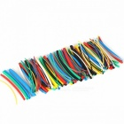High Quality 140Pcs 7-Color Assortment 2:1 Heat Shrink Tube Tubing Sleeving Wrap Wire Cable Kit Connectors colorful