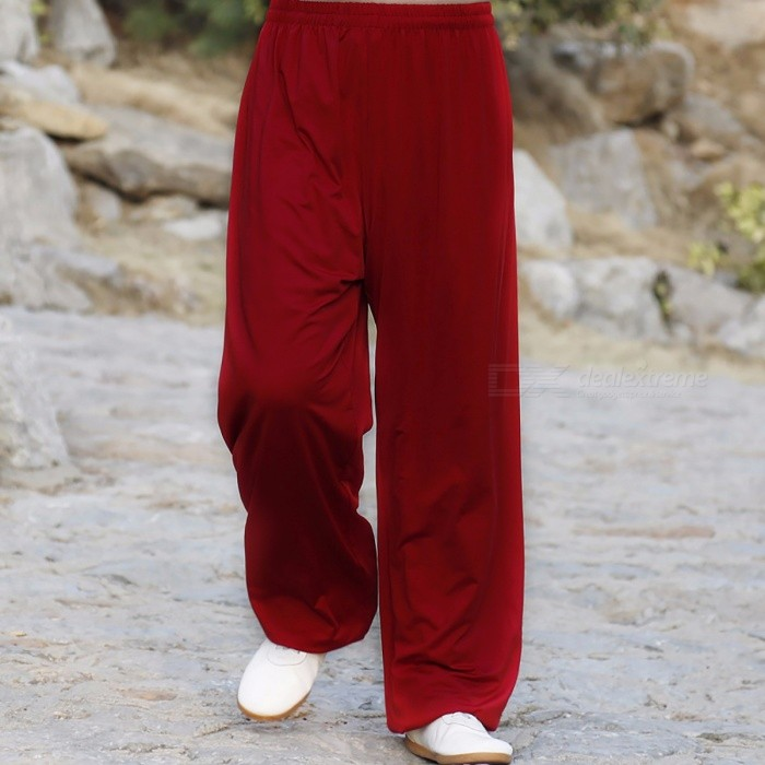 Martial Arts Tai Chi Yoga Pants, Acrobatics Kung Fu Cropped Trousers, Running Exercise Pants for Men Women S/blackDescription<br><br><br><br><br>Item Type: Full Length<br><br><br>Sport Type: Martial Arts<br><br><br><br><br>Material: Silk,Cotton<br><br><br>Gender: Men<br><br><br><br><br>Fit: Fits true to size, take your normal size<br><br><br>Fabric Type: Broadcloth<br><br><br><br><br>Closure Type: Elastic Waist<br><br><br>Brand Name: NoEnName_Null<br>